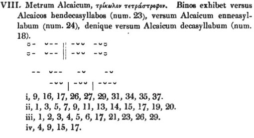 Metrum  Alcaicum